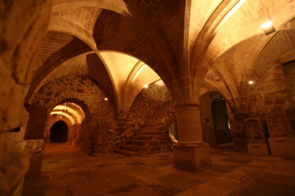 In the undergrounds of the Museums of Sens